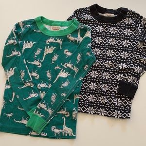 TWO Hanna Andersson PJ Tops